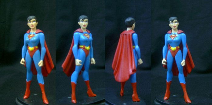 Superwoman DC JLU custom by custommaker