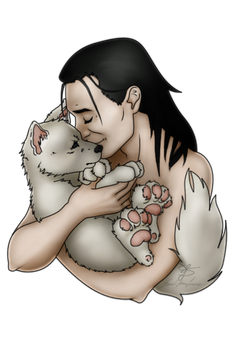 Loki and Fenrir by ScereyahaDreamweaver