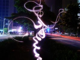 light graffiti VI by roledeluz