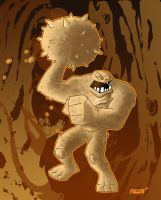 BATMAN animated CLAYFACE by Chadfuller