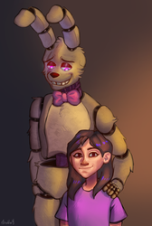 [Springtrap and Deliah] Fan art by 0Davey0