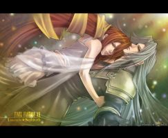 Lucrecia and Sephiroth...3 by roman-ranman