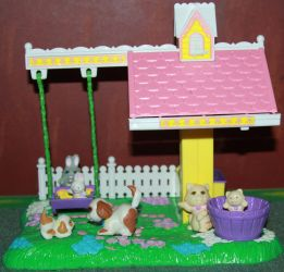 Pet Shop - Country Garden Nursery Playset -Stock by Lovely-DreamCatcher