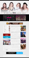 Little Mix - Wordpress Theme #02 by twnchest