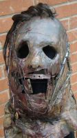 Custom LEATHERFACE Mask 2 by purplenothing