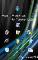 Vista RTM Icon Pack For TuneUp by Picassa243