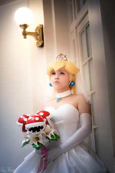 Bride Peach by LayzeMichelle