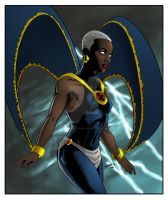 Lupita as Storm by DanBoy0812