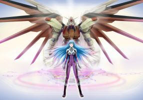 Gundam SEED A-STAR - Wings of the esther by csy5150