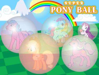 Super Pony Ball Poster by 4-Chap