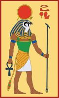 Egyptian God Ra by Tutankhamun