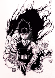 Hiei by Josukespimphand