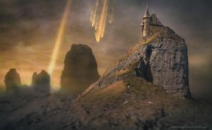 Meteor Castle by annewipf
