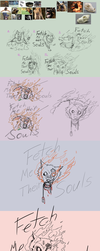 Fetch me their Souls - Creative process by OaknOats