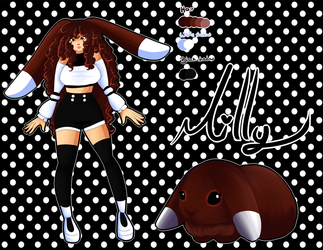 Milly's new look more kawaii and furry than before by Milizapiainc