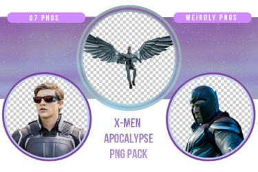 X-Men Apocalypse PNG Pack by Weirdly-PNGS