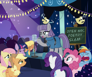 Maud's Poetry Slam by PixelKitties