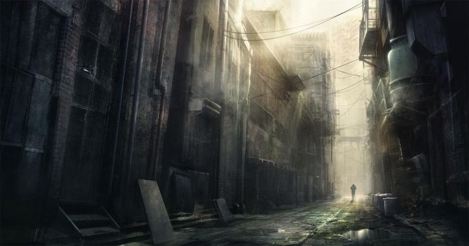 In the Alley by korbox