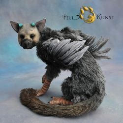 Poseable Art Doll, Trico by FellKunst