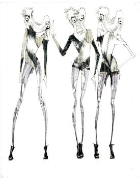 conjoined fashion by GrAY-MAZ