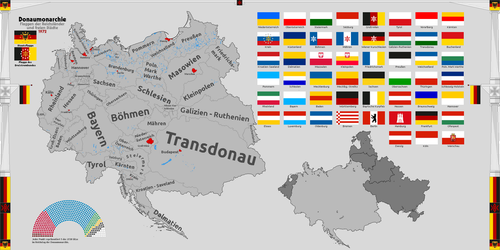 [Nightrise]Provinces of the Danube Monarchy (1972) by ValdoreWorks