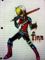 Finn the bloody by kevinkas1992