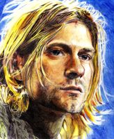 Kurt Cobain by Fandias