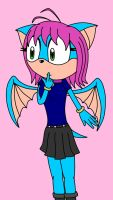 AT: Yui the bat by animecat33