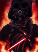 Kylo Ren by Nomingzombie