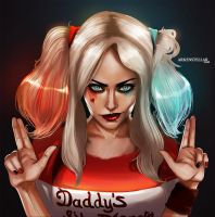 Harley Quinn by Arkenstellar