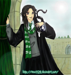 DeviantID Mew Slytherin by mew1129