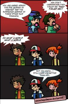 PKMN: The Coppers Comic by OneWingedMuse