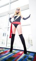 Ms. Marvel C2E2 by bettiebloodshed
