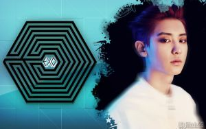 EXO K Chanyeol' Overdose Wallpaper by Rizzie23