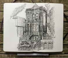 sketchbook - gorgeous sf house by keiross