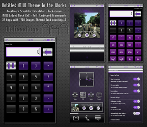 Untitled Preview of Purple and Chrome MIUI Theme by melissapugs