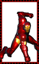 Iron Man Stamp. by WOLFBLADE111