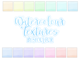 Watercolour Textures by seoulfur by seoulfur