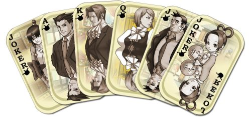 Ace Attorney Full House by acat48
