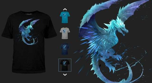 Winter Wyvern shirt by sandara