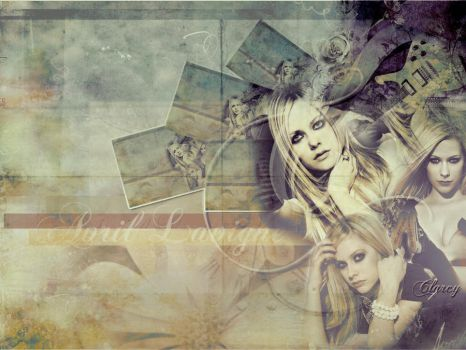 Avril Lavigne Wallpaper by lnx03