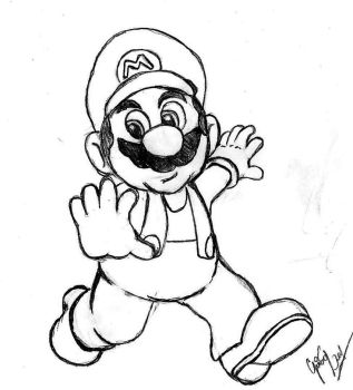Mario by Gugaleal