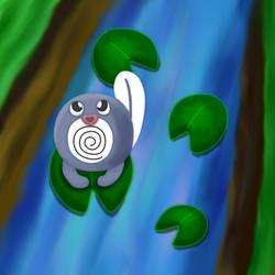 Polipopping Poliwag by 1Meh1