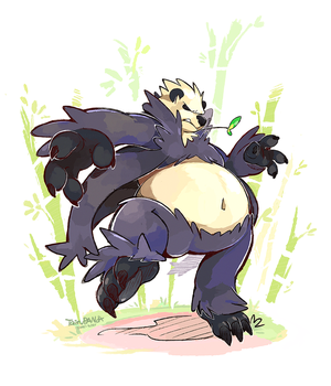 Messin' with the wrong Pangoro by super-tuler