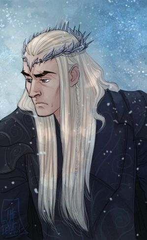 LOTR - Oropher by the-evil-legacy