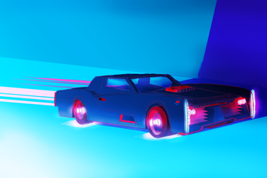 Neon Car by Thin-Kings