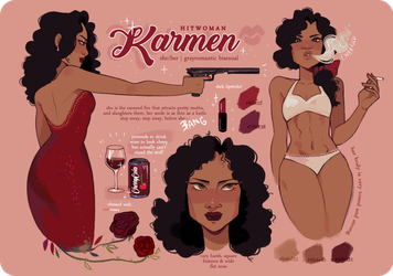 Karmen McCarter | REFERENCE by cherrilu