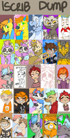iscribble doodle dump by MajorPiece