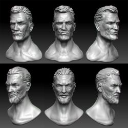 Zbrush sketch sculpting practice by keshon83