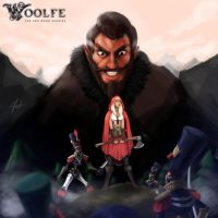 Woolfe Fan Art Submission by SaTTaR